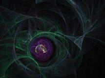 Huevo de Quantum Imagenes de archivo