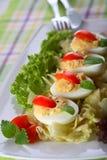 Huevo de relleno Imagen de archivo
