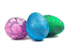 Huevo de Toy Dinosaur para Pascua Fotografía de archivo libre de regalías