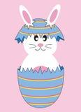 Huevo del conejito de pascua libre illustration