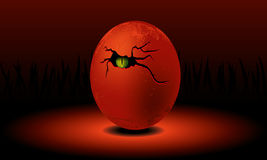 Huevo del dragón libre illustration
