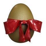 Huevo del oro Stock de ilustración