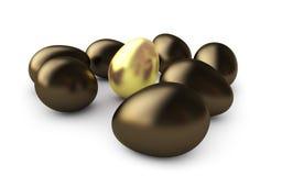 Huevo del oro libre illustration