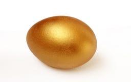Huevo del oro Imagen de archivo libre de regalías