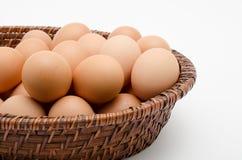 Huevo en bandeja Foto de archivo libre de regalías