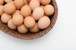 Huevo en bandeja Fotografía de archivo libre de regalías