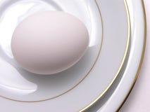 Huevo en China fina 1 Foto de archivo