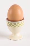 Huevo en huevera Imagen de archivo