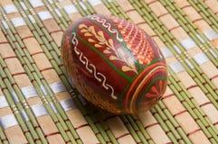 Huevo en servilleta Fotos de archivo