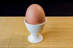 Huevo en un soporte fotografía de archivo libre de regalías
