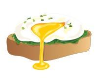 Huevo escalfado libre illustration