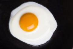 Huevo frito. Fotografía de archivo libre de regalías