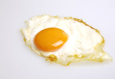 Huevo frito foto de archivo