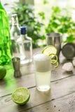 Huevo Gin Fizz Cocktail fotografía de archivo