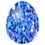 Huevo manchado blanco púrpura azul libre illustration