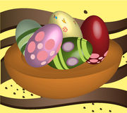 Huevo pascua Stock de ilustración