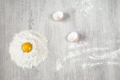 Huevo quebrado Fotografía de archivo