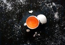 Huevo sin procesar foto de archivo libre de regalías