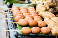Huevo tostado en estufa foto de archivo libre de regalías