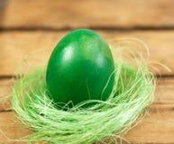 Huevo y jerarquía de Pascua fotografía de archivo