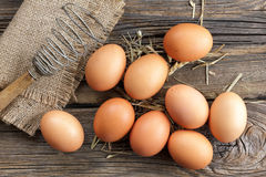Huevos foto de archivo libre de regalías