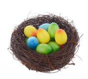 Huevos adornados Foto de archivo libre de regalías