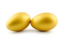 Huevos aislados en el fondo blanco foto de archivo