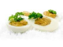 Huevos al curry Imágenes de archivo libres de regalías