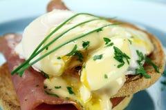 Huevos Benedicto Fotografía de archivo