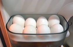 Huevos blancos Fotos de archivo