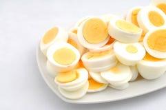 Huevos cocinados fotografía de archivo libre de regalías