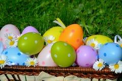 Huevos coloreados Imagen de archivo