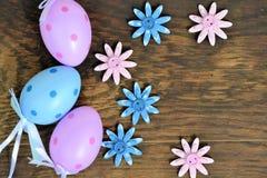 Huevos coloreados Imagenes de archivo