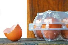 Huevos coloreados del pollo foto de archivo libre de regalías
