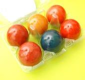 Huevos coloridos Fotos de archivo