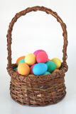 Huevos coloridos foto de archivo libre de regalías