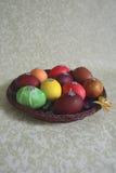 Huevos con las lentejuelas Fotografía de archivo libre de regalías