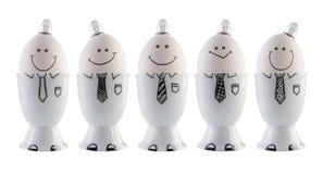 Huevos, concepto de la creatividad. Fotos de archivo