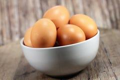 Huevos de Brown imágenes de archivo libres de regalías