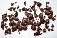 Huevos de chocolate Foto de archivo