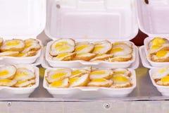 Huevos de codornices de Knmcrk Fotografía de archivo
