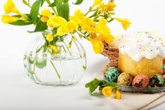Huevos de codornices Huevos pintados para Pascua Aún lifes coloridos Imágenes de archivo libres de regalías