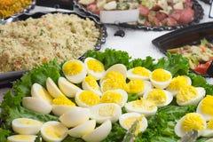Huevos de Deviled Imagen de archivo