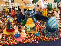 Huevos de Disney Pascua Fotos de archivo