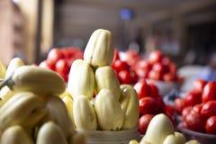 Huevos de jardín del mercado de Ghana foto de archivo