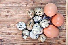 Huevos de la cocina Fotografía de archivo libre de regalías