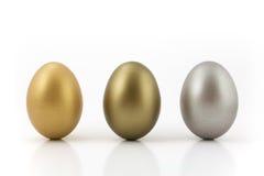 Huevos de la medalla Fotos de archivo libres de regalías