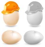 Huevos de la seguridad Fotos de archivo