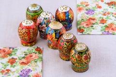 Huevos de los easters de la composición Imagenes de archivo