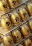 Huevos de oro. Imagenes de archivo